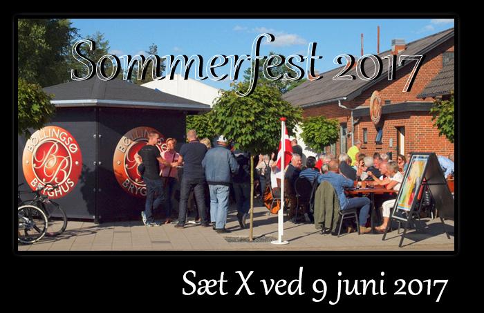Sommerfest den 9. juni